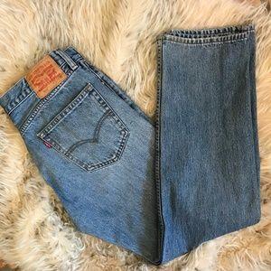 Levi's 505 Jeans Zip Fly Straight Leg 33 x 30